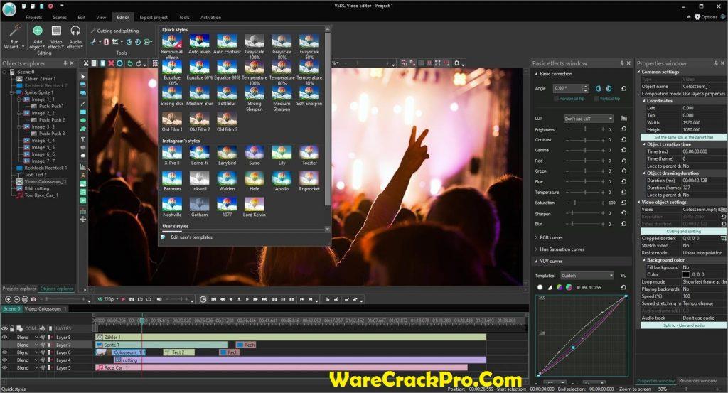 VSDC Video Editor Pro Keygen