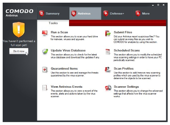 Comodo Antivirus License Key