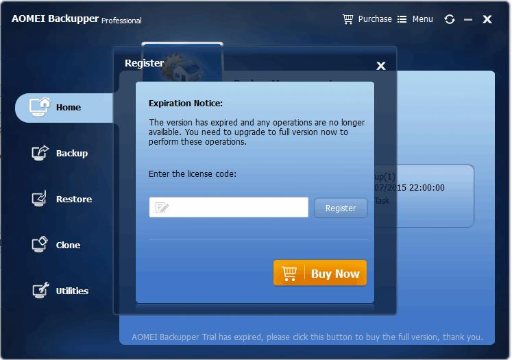 AOMEI Backupper Professional License Key